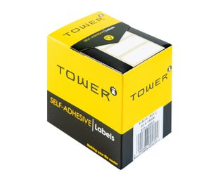 Tower White Roll Labels - R3213